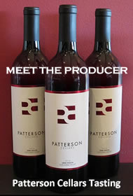 Patterson Cellars Wine Tasting
