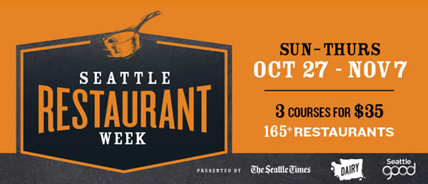 Seattle Restaurant Week Fall 2019