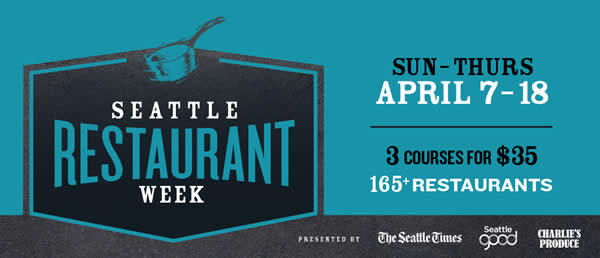 Seattle Restaurant Week Spring 2019