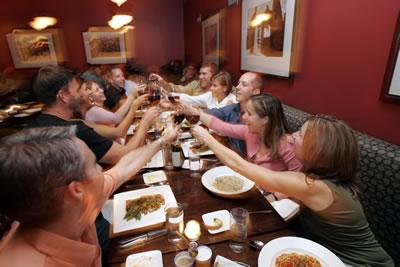 Group Dining in Volterra Kirkland's Main Dining Room